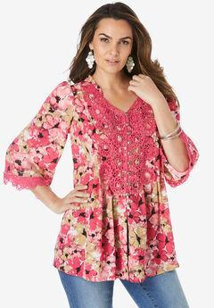 Juliet Lace Big Shirt,