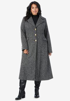 Long Tweed Coat,