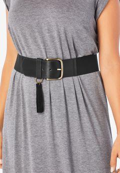 Stretch Tassel Belt,
