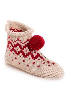 Knit Slipper,