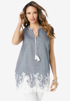 Fit-And-Flare Tank,