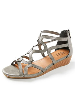 Good Soles Strappy Wedge Sandal,
