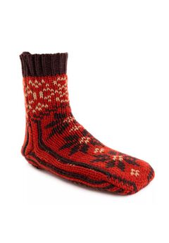 Knit Sock Slipper,