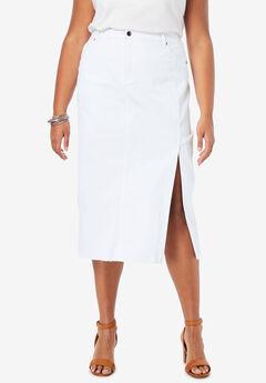 Midi Jean Skirt,