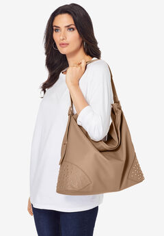 Studded Hobo Bag,