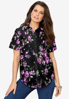 Short-Sleeve Kate Big Shirt,