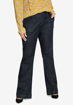 Wide-Leg Jeans Castaluna , INDIGO