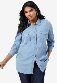 Olivia Denim Big Shirt,