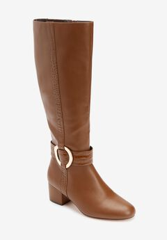 The Vale Wide Calf Boot ,