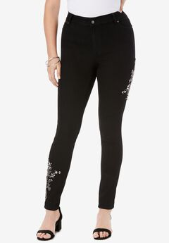 Embellished Skinny Jean with Invisible Stretch®,