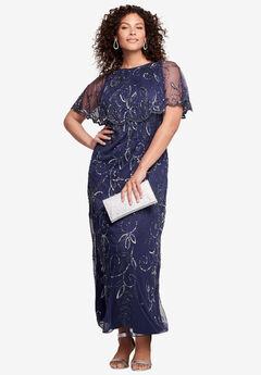 Glam Maxi Dress, NAVY