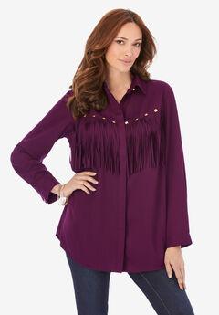 Fringe Big Shirt,