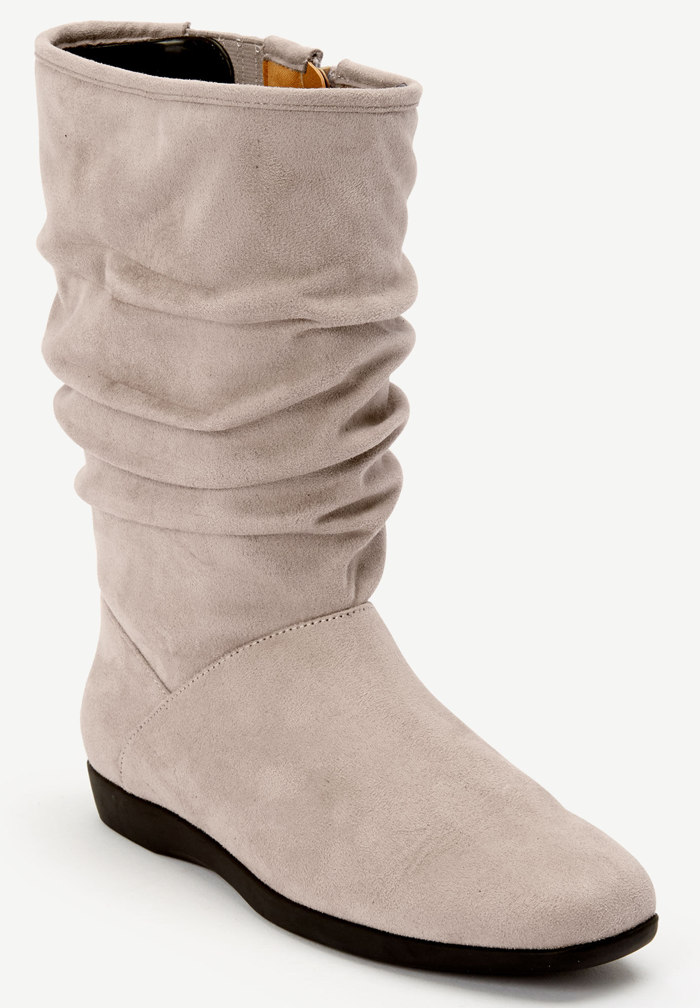 Wide Width Boots for Women   One Stop Plus