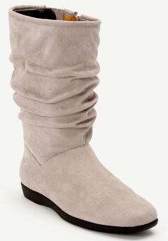The Aneela Wide Calf Boot ,