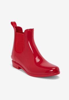 The Uma Rain Boot , VIVID RED