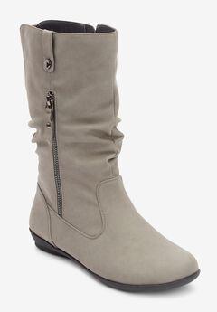 The Keomi Wide Calf Boot ,