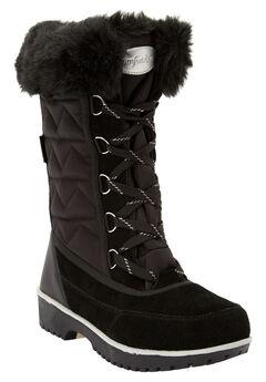 The Eileen Waterproof Boot , BLACK SILVER MULTI