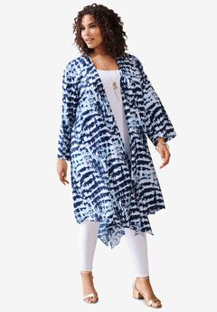 Hanky-Hem Kimono,