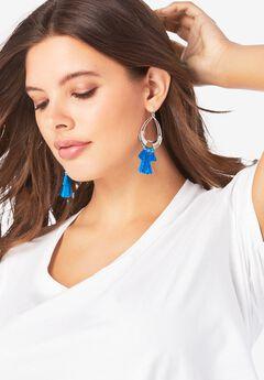Tassel Drop Earrings,