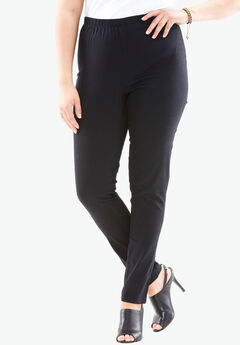 Skinny-Leg Pull-On Stretch Jean by Denim 24/7®,