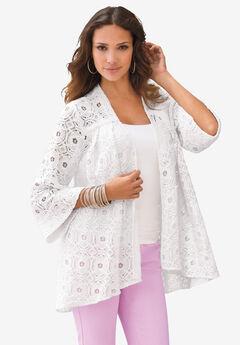 Lace Swing Jacket,
