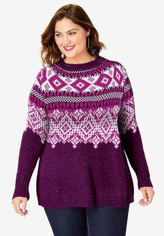 Fair Isle Sweater,