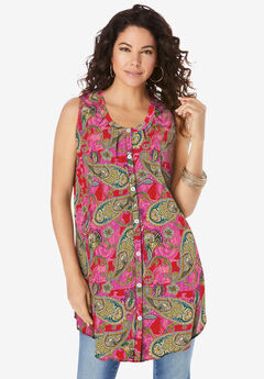 Sleeveless Angelina Tunic,