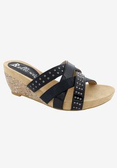 Spa Wedge Slide Sandal,