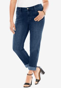 Boyfriend Jean with Invisible Stretch®,