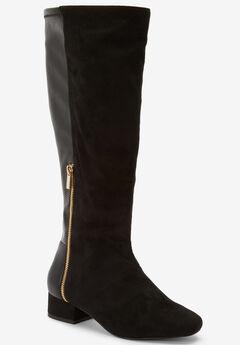 The Ivana Wide Calf Boot ,
