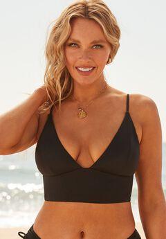 Camille Kostek Plunge Away Bikini Top,