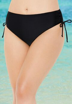 Side Tie Adjustable Swim Brief,