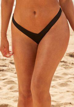 Camille Kostek 90's Baby Thong Bikini Bottom, MIDNIGHT