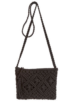Crochet Crossbody Purse,