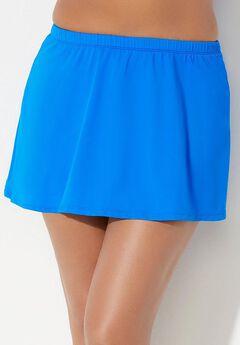 A-Line Swim Skirt, BEAUTIFUL BLUE