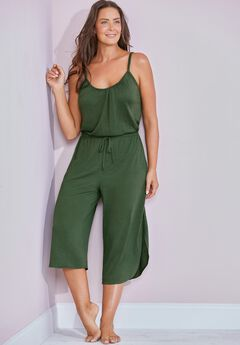 Stella Cropped Jumpsuit,