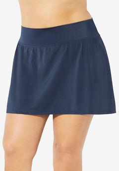 High-Waist Swim Skirt ,