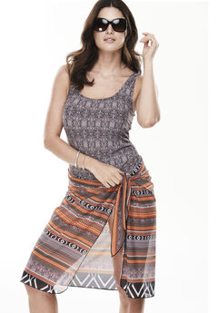 Swimsuit with Sarong,
