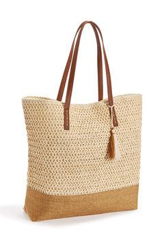Straw Beach Bag,