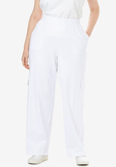 Pull-On Knit Cargo Pant,