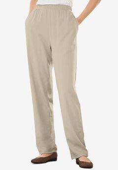 7-Day Knit Straight Leg Pant,