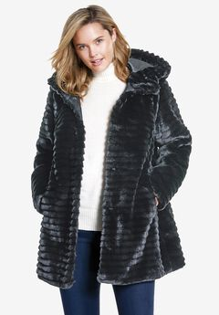 Faux Fur Coat,