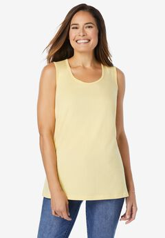 Perfect Scoop-Neck Tank,