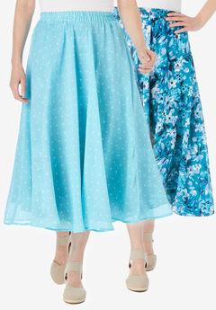 Reversible skirt,