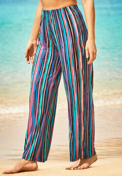 Wide-Leg Cover Up Pant,