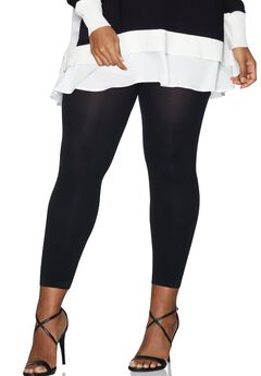 Hanes Curves Blackout Footless Tights,