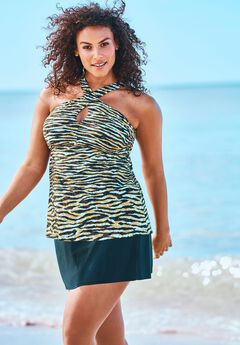 Crossover Tankini Top ,