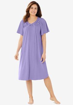 Rib Knit Nightgown,