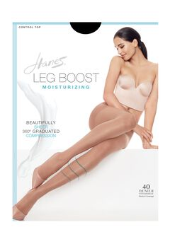 Hanes Silk Reflections Leg Boost Moisturizing Hosiery,