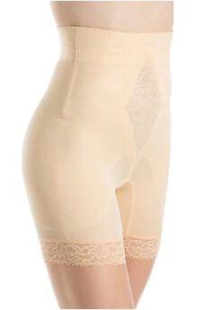 No Top Roll High Waist Long Leg Shaper,